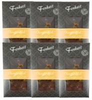 Orangenblüten Schokolade 6x 100g - Fenkart Schokoladengenuss - Vollmilch Edelvollmichschokolade 60%
