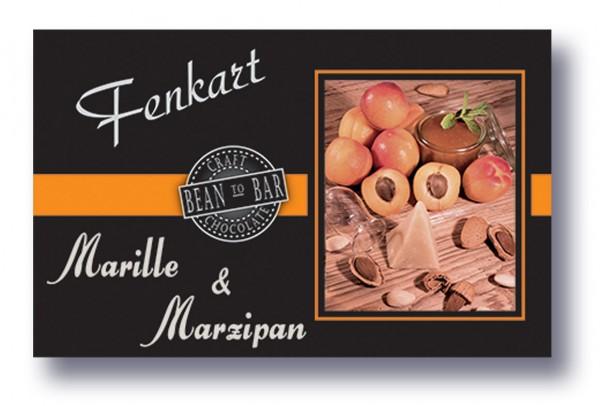"Marille Marzipan Schokolade 1x 80g - Fenkart Schokoladengenuss - ""Bean to Bar"" Schokolade"