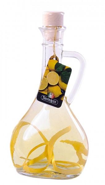 Zitronenessig - Weißweinessig mit Aroma - Zitronen Essig aus Italien - TrentinAcetia - 250 ml