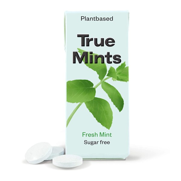 True Mints - FRISCHE MINZE | Pflanzliche und zuckerfreie Pastillen