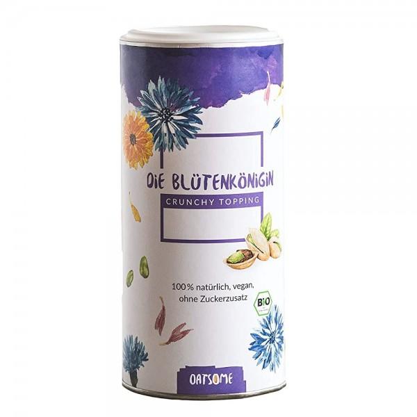 Oatsome - Blütenkönigin - Crunchy Toppings - Bio? Logisch! - Extra Crunchy - Ohne Zuckerzusatz - 200g