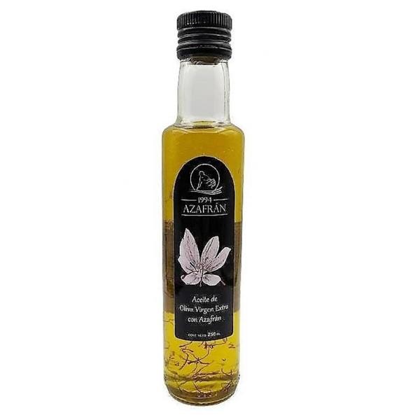 Azafran 1994 Olivenöl mit Safran -250 ml Natives Olivenöl Extra mit hochwertigem Azafran verfeinert