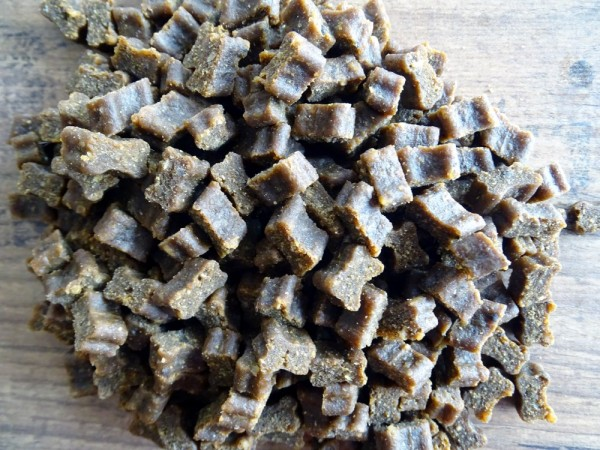 Hunde Softies - 1x Fleisch-Softies Strauß 200g - Leckerlies für Ihren Hund - Glutenfreier Hunde Snack