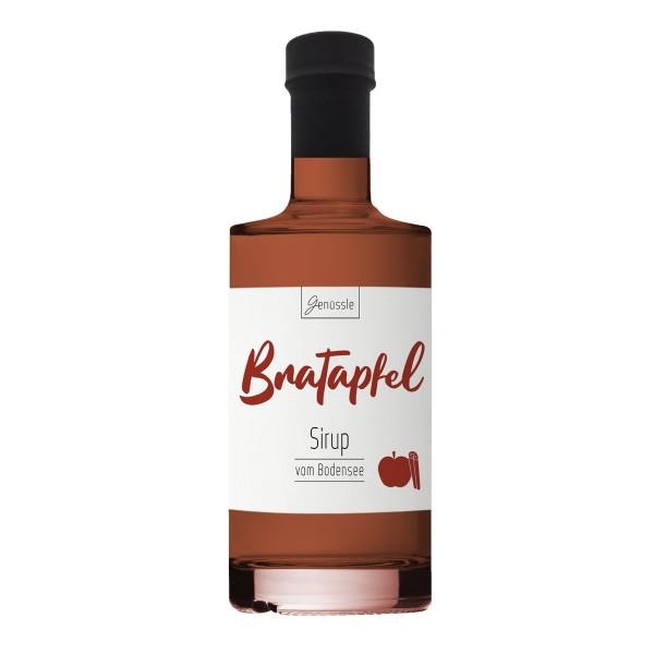 Bratapfel-Sirup 350ml - Genüssle Apfelsirup vom Bodensee - Bratapfel Sirup