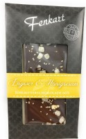 Ingwer & Honigsesam Schokolade 1x 100g - Fenkart Schokoladengenuss - Edelbitterschokolade 66%