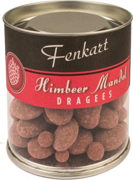 Himbeermandeln 120g - Fenkart Schokoladengenuss - Schokoladen-Dragees Edelvollmichschokolade 40%