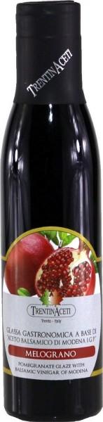Granatapfel Balsamico - Balsamico Creme mit Aroma aus Italien - 300 ml - Aceto Balsamico Di Modena