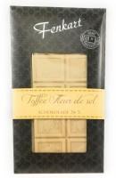 Karamellisierte Meersalz Schokolade 1x 100g - Fenkart Schokoladengenuss - Weisse Schokolade 34%