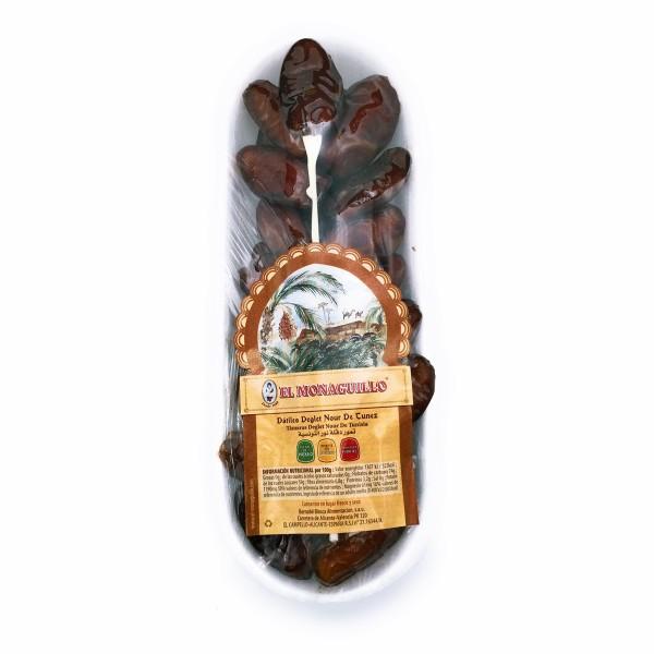 Deglet Nour getrocknete Datteln aus Tunesien - 100 % natürliche Premium Qualität - mit Kern - 250 g