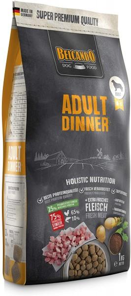 Belcando Adult Dinner Hundefutter 1kg   Trockenfutter für Hunde   Alleinfuttermittel für ausgewachsene Hunde Aller Rassen ab 1 Jahr