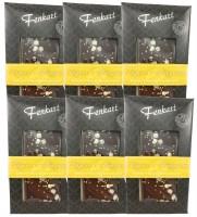 Ingwer & Honigsesam Schokolade 6x 100g - Fenkart Schokoladengenuss - Edelbitterschokolade 66%