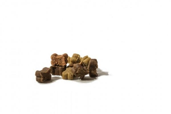 Hunde Softies - 5x KNÖCHELCHEN MIX 200g - Leckerlies für Ihren Hund - Glutenfreier Hunde Snack