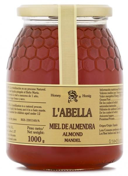 Mandelblütenhonig aus Spanien - Mandel Honig - Premium Qualität - Naturprodukt - kaltgeschleudert