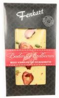 Bodensee Erdbeere Schokolade 1x 100g - Fenkart Schokoladengenuss - Edelschokolade 33%
