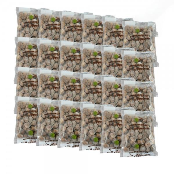 Getrocknete Feigen aus Spanien - 100 % natürlich - Sonnengetrocknet - Glutenfrei - 24 x 500g - 12 Kg