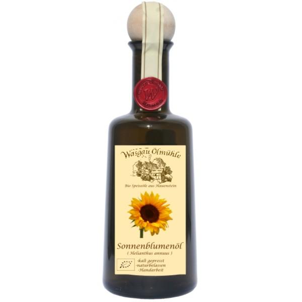 Wasgau Ölmühle - Bio Sonnenblumenöl - 500ml - kaltgepresst, naturbelassen