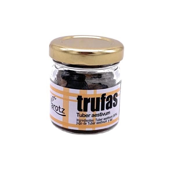 Echter ganzer weißer Sommer Trüffel der Spitzenklasse aus Spanien - in 1.Qualität - 10 g im Glas