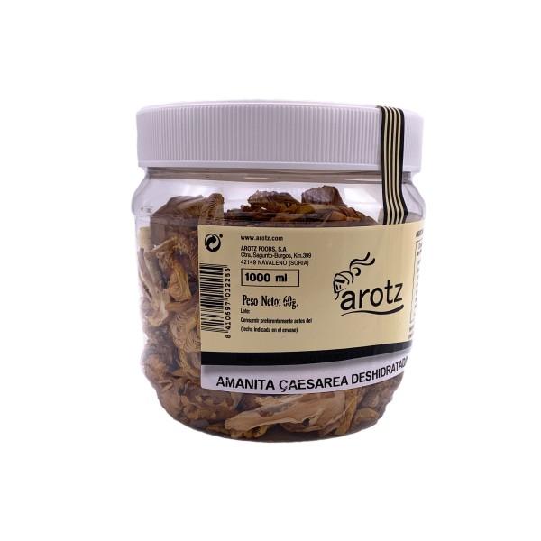 getrocknete Kaiserling Pilze - getrocknete Speisepilze der Spitzenklasse aus Spanien- Scheiben- 60 g