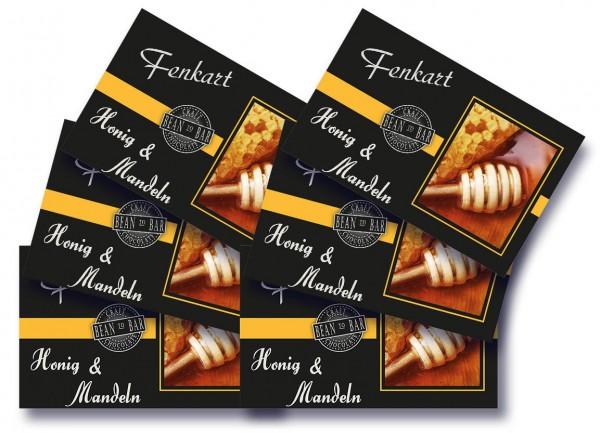 """Mandel & Honig Schokolade 6x 80g - Fenkart Schokoladengenuss - """"Bean to Bar"""" Schokolade"""