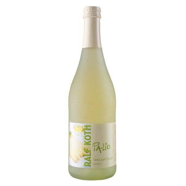 Palio - Spargel Secco 0,75l - Fruchtiger Perlwein - Prämiert aus Deutschland