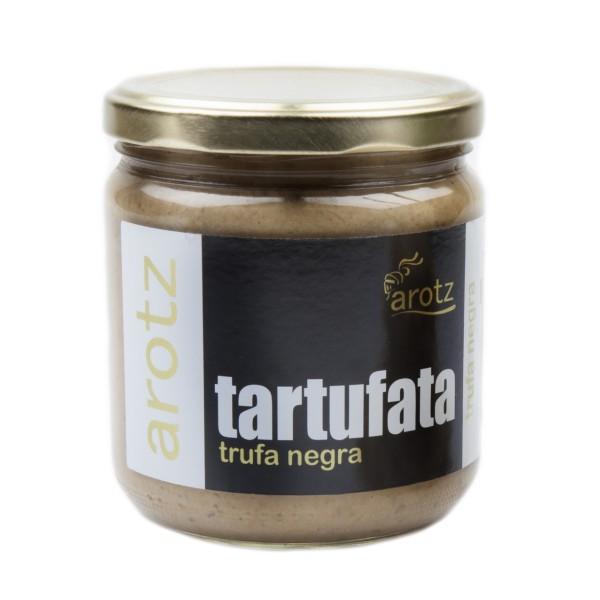 Echte Trüffel - Steinpilzcreme Paste - Tartufata Creme Paste mit schwarzem Trüffel verfeinert- 400 g
