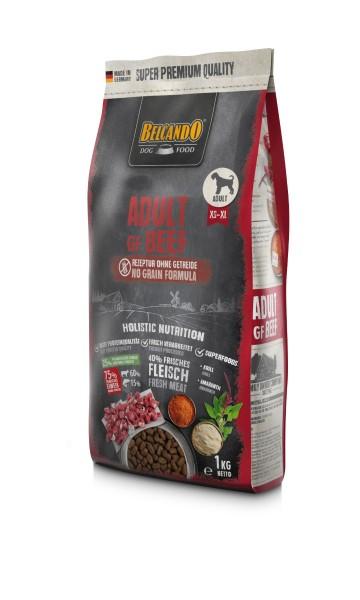 Belcando Adult GF Beef getreidefreies Hundefutter | Trockenfutter ohne Getreide 1x 1 kg