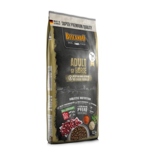 Belcando Adult GF Horse getreidefreies Hundefutter | Trockenfutter ohne Getreide 12,5 kg