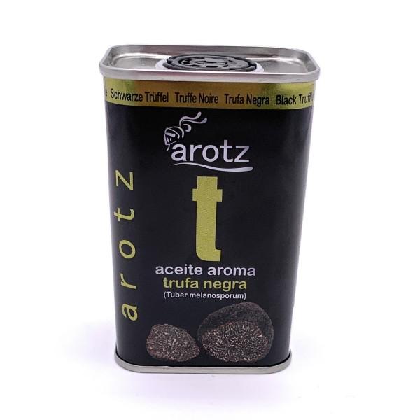 Trüffelöl der Spitzenklasse aus Spanien - Extra natives Olivenöl mit schwarzem Trüffelaroma - 200 ml