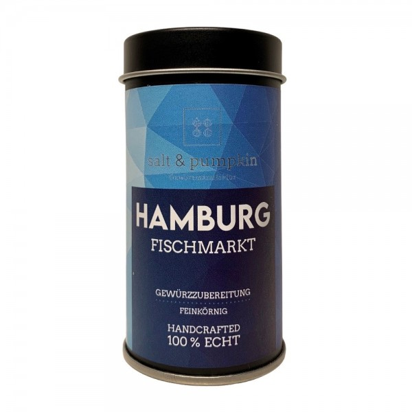 salt & pumpkin HAMBURG 52g, Gewürz für den FISCH