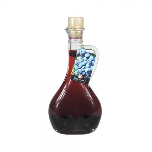 Blaubeeressig - Weißweinessig mit Aroma - Blaubeer Essig aus Italien - TrentinAcetia - 250 ml