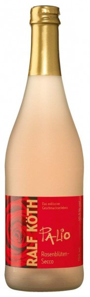 Palio - Rosenblüte Secco 0,75l - Fruchtiger Perlwein - Prämiert aus Deutschland