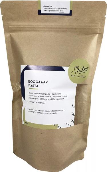 Shileo Low-Carb Konjak Nudeln/Shirataki, kalorienarm, exklusiv getrocknet (210g), ideal für Ketogene Ernährung (210g)
