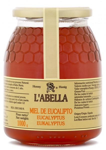 Eukalyptushonig aus Spanien - Premium Qualität - reines Naturprodukt - kaltgeschleudert - im Glas