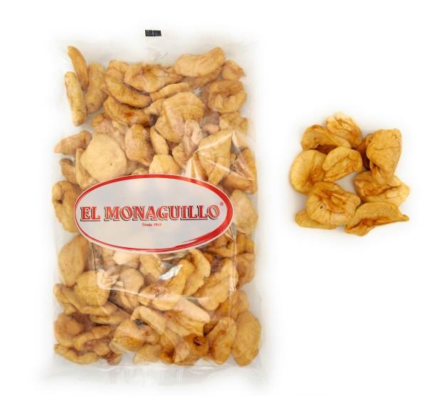 Getrocknete Apfelschnitze - natürliche Premium Qualität - Vitaminreich - Apfelstücke, Apfelringe - 500 g