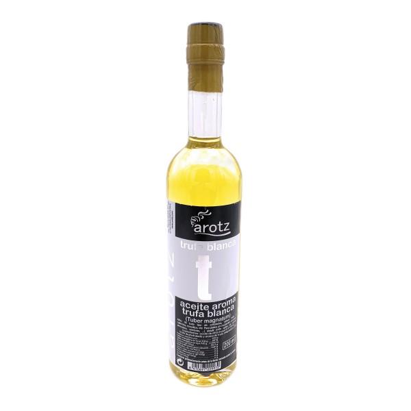 Trüffelöl der Spitzenklasse aus Spanien - Extra natives Olivenöl mit weißem Trüffel und Trüffelaroma- 200 ml