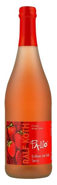 Palio - Erdbeer mit Chili Secco 0,75l - Fruchtiger Perlwein - Prämiert aus Deutschland