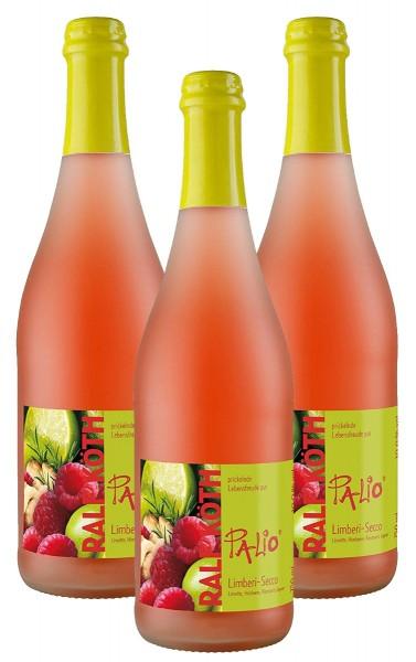 Palio - Limberi Secco 3x 0,75l - Fruchtiger Perlwein - Prämiert aus Deutschland