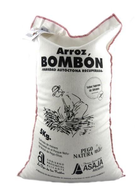 Bombon Reis aus Spanien - Rundkornreis - für Risotto.. - Anbau im Naturpark Marjal Feuchtgebiet