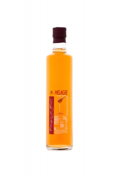Honigessig mit Blütenhonigmet aus Spanien - Premium Qualität - Naturprodukt - im Faß gereift- 500 ml