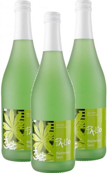 Palio - Waldmeister Secco 3x 0,75l - Fruchtiger Perlwein - Prämiert aus Deutschland