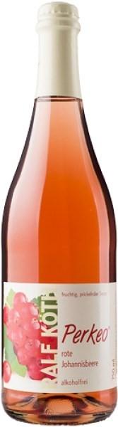 rote Johannisbeere-Secco 0,75l - alkoholfrei - Perkeo - Prämiert aus Deutschland