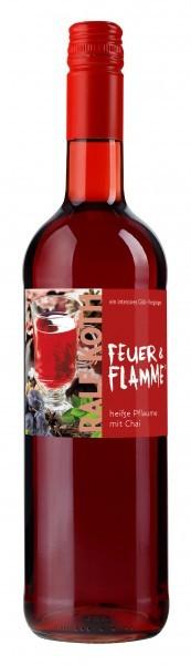 Glühwein Heiße Pflaume mit Chai 0,75l - Feuer & Flamme - Prämiert aus Deutschland