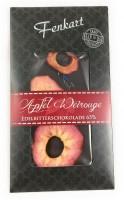 Apfel Weirouge Schokolade 1x 100g - Fenkart Schokoladengenuss - Vollmilch Edelvollmichschokolade 65%