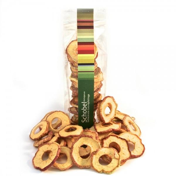 Getrocknete Elstar-Apfelringe 90g - getrocknete Apfelringe - Vitaminreich - goldgelbe - Apfelringe