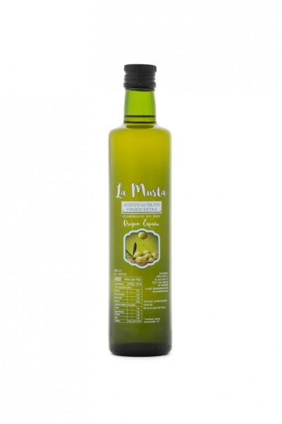 Extra Natives Olivenöl aus Spanien - höchste Qualität - reines Naturprodukt - kaltgepresst - 500 ml