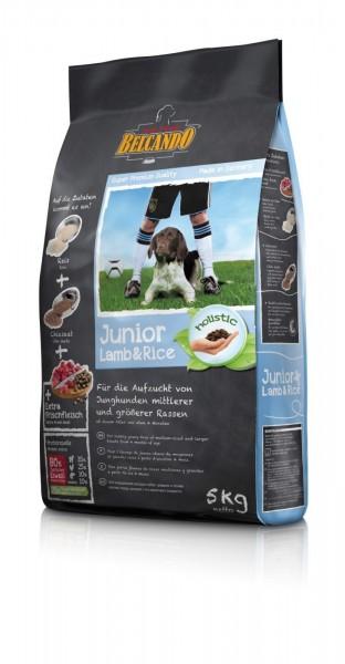 Hunde Trockenfutter - Junior Lamb mit Lamm und Reis 5kg - Belcando Hundefutter - leichtverdaulich