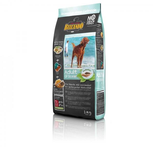 Hunde Trockenfutter - Adult GF Ocean mit Fisch 1kg - Belcando Hundefutter - getreidefrei