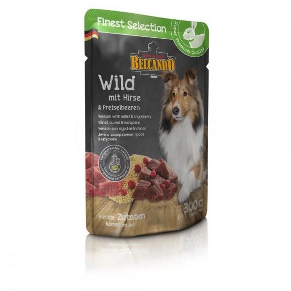 Belcando 1 x 300g Wild mit Hirse und Preiselbeeren Frischebeutel