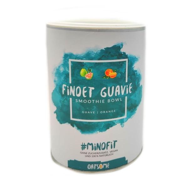 Oatsome - Findet Guavie - Smoothie Bowl - Nährstoff Frühstück mit 100% natürlichen Zutaten & ohne Zusatzstoffe und raffinierten Zucker - Lange satt mit nur 200 kcal - 400g