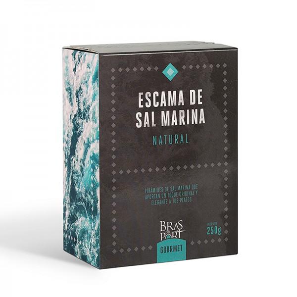 Meersalz Flocken - Flor de Sal - Fleur de Sel - aus Spanien - 100 % natürlich - Naturpark Salinas
